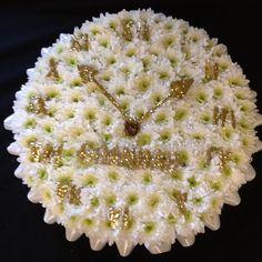 Clock Flower Tribute