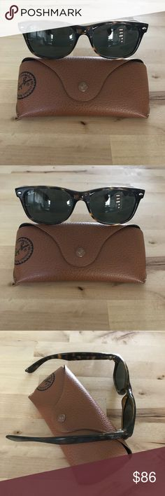 2e50af4a246 Ray Ban Wayfarer 👓 Like new hardly worn. Tortoise shell frame. Comes with  hard