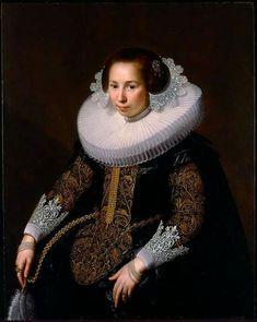 Portrait of Catharina van Voorst Paulus Moreelse - 1628