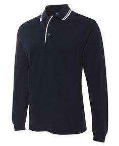 L/S Contrast Polo 210XC