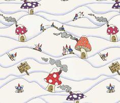 Gnome, Alaska fabric by ceanirminger on Spoonflower - custom fabric
