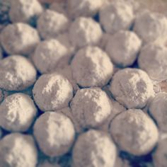 snowballs filled with roasted walnuts