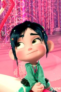 Vanellope Von Schweetz (&Wreck-it Ralph) iPhone. Disney Pixar, Disney Animation, Heros Disney, Disney Icons, Disney Cartoons, Disney And Dreamworks, Disney Art, Disney Movies, Cute Disney Wallpaper