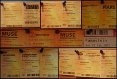 Tickets :3