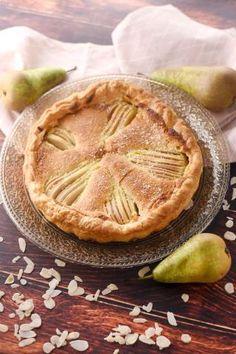 Frangipane pie with chocolate tart, Frangipane Tart, Scones, Apple Pie, Sweet Recipes, Meal Planning, Bakery, Dessert Recipes, Cooking Recipes, Snacks