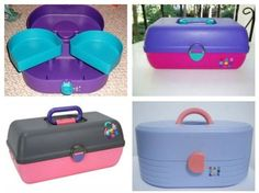 Caboodle..  I still have my makeup in the one I bought for my teenage daughter.