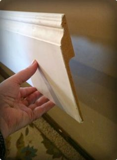 Installing (from Lowes) Baseboards Over Existing Baseboards