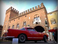 Auto storiche in centro storico 2013, Ferrara - Historic cars in the historic center, 2013, Ferrara, Italy, photo2