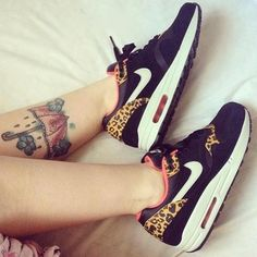 Leopard Nike air max - I need these trainers