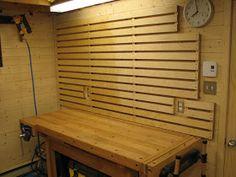 Systeme de rangement mural pour atelier organisation pinterest rangement rangement mural - Systeme rangement garage ...
