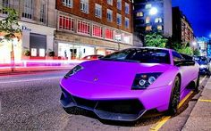 Purple Lambo - The Lambo for engineers!