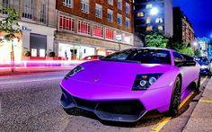Purple Lambo - The Lambo for engineers!