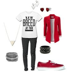 Jay Park inspired outfit