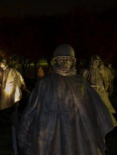 Korean War Memorial, Washington, DC.