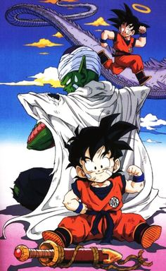 Dragon Ball Z Dragon Ball anime Akira Toriyama Son Gohan Piccolo Son Goku… Akira, Dragon Ball Z, Manga Anime, D Mark, Z Wallpaper, Animation, Digimon, Fan Art, Illustration