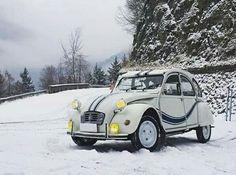 2cv à la neige