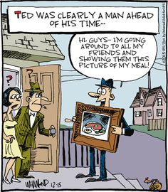 Before Instagram.    Reality Check comics.