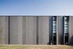 Headquarters + production complex for pratic - factory facade