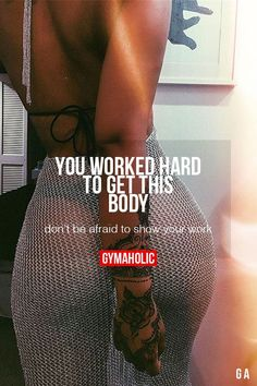 Fitness Motivation :    Description   You Worked Hard To Get This Body    - #Motivation https://madame.tn/fitness-nutrition/motivation/fitness-motivation-you-worked-hard-to-get-this-body/