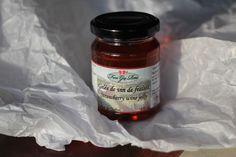 Gelée de vin de fraises de La Ferme Guy Rivest