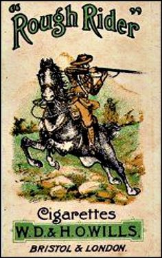 Vintage Fold Pack of Rough Rider - Popular in the 50s & 60s. No longer available.