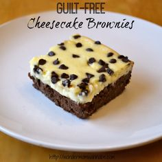 Guilt-Free Cheesecake Brownies - WONDERMOM WANNABE
