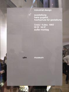 Hans Gugelot Exhibition