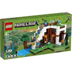 Lego Minecraft The Waterfall Base 21134, Multicolor