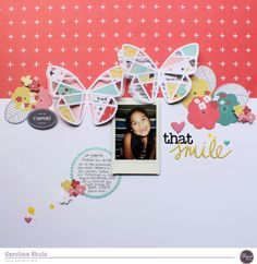 Hello!! Caroli here and today I want to show you a project I made using my January Kit Alegria. For me, scrapbooking is all about documenting life, simple things and also important facts or milesto...