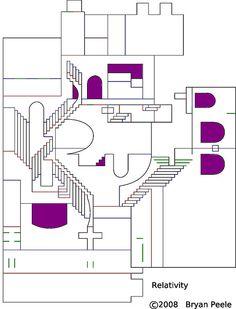 M.C. Escher pop up