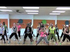 "SEAN PAUL - Dancehall  ""Roll Wid Di Dom"" - Choreography for Dance Fitness"
