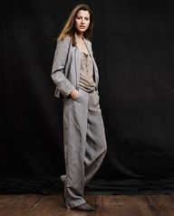 TRANSITIONAL TROUSERS: a slouchy grey wide leg trouser is a must have!