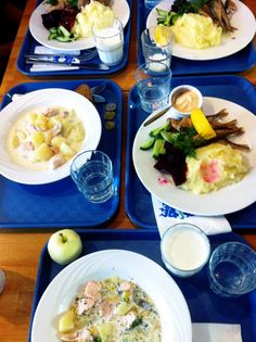 Kahvila Suomi & Finnish cuisine Lunch Time, Food Styling, Finland, Health, Ethnic Recipes, Health Care, Healthy, Salud