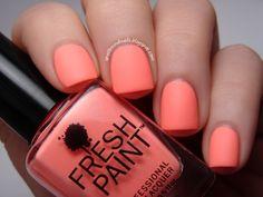 fresh paint nail polish guava - Google Search