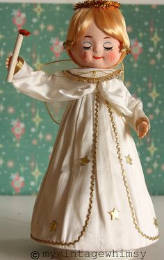 vintage christmas angel...so cute