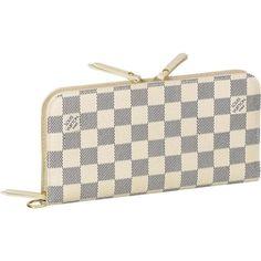 Cheap LV Insolite Wallet Damier Azur Canvas N63072
