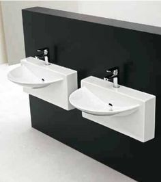 LaToscana Wall Mounted Wall Bathroom Sink, Wall Mount Bathroom Sink With  Single Faucet Hole, One Piece Deign Allows For Easy Cleaning Of The Sink  Base And ...