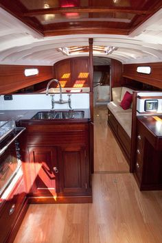 Fairlie 55 Interior From Classic Boat Magazine Article Photos By Emily Harris Ok Not For Our Current But Someday