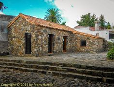 Old stone house in Paseo de San Gabriel