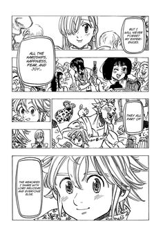 Read manga Nanatsu no Taizai 103: A New Journey online in high quality
