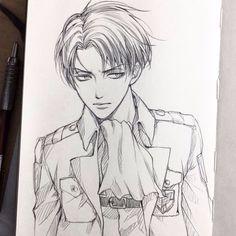 Levi Ackerman - Attack on Titan / Shingeki no Kyojin | Oooohhhhh, he looks good