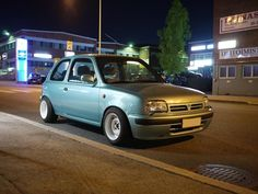 K11 Micra Stance Micra K11, Nissan March, Retro Cars, Custom Cars, Cars And Motorcycles, Vehicles, Swift, Vans, Japanese