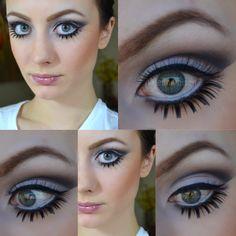 Twiggy inspired Halloween makeup #twiggy #halloweenmakeup