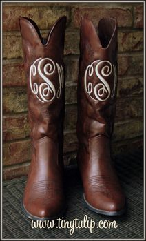 Monogrammed Cowboy Boots tinytulip.com - Personalized Gifts at Great Prices - Personalized