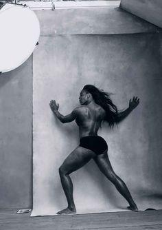 Tennis player Serena Williams. Photo: Annie Leibovitz/Pirelli Calendar