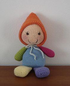 Irresistible Crochet a Doll Ideas. Radiant Crochet a Doll Ideas. Crochet Dolls Free Patterns, Crochet Doll Pattern, Doll Patterns, Crochet Designs, Crochet Baby Toys, Cute Crochet, Baby Knitting, Crochet Animals, Crochet 101