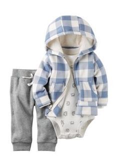906d5d5fe147 Child of Mine by Carter s Newborn Baby Girl Cardigan Set 3 Pieces ...