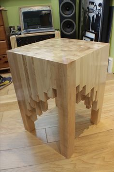 Scrap End Table