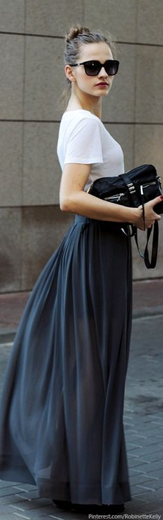 Simply Chic, Street Style.