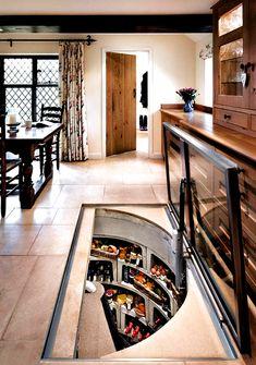 Küchen Design, House Design, Design Ideas, Design Case, Cellar Design, Rustic Kitchen, Kitchen Ideas, Cozy Kitchen, Interior Design Living Room